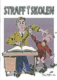 """Fordide av tegneserieheftet """"Straff i skolen"""""""